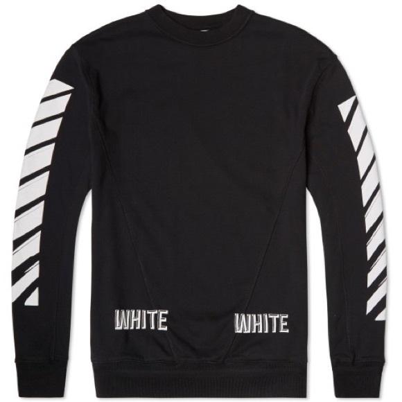 3 D OFF WHITE SWEATSHIRT